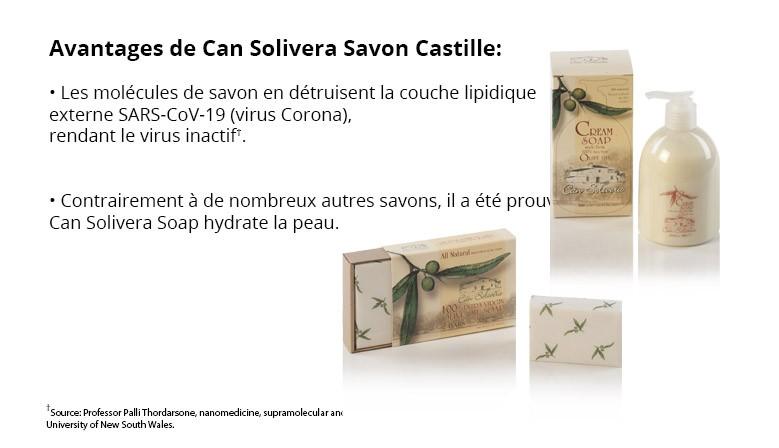 Can Solivera Savon Castille