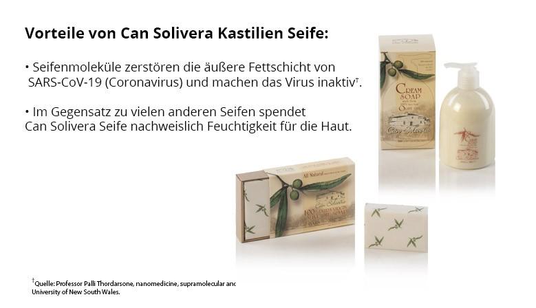 Can Solivera Kastilien Seife