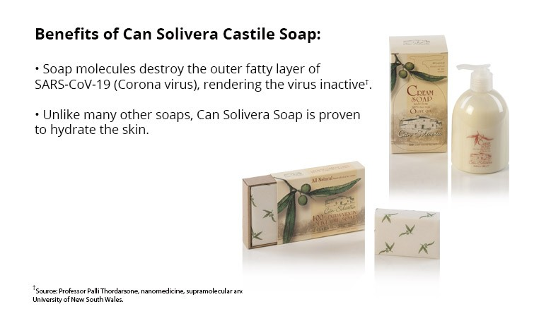 Can Solivera Castile Soap