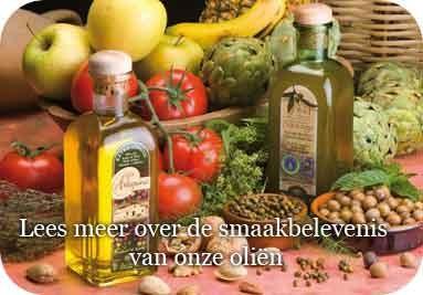 Smaakbelevenis van onze olieen